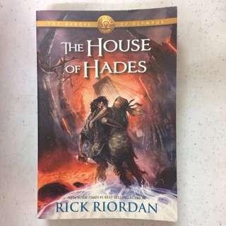 House of Hades by Rick Riordan (PAPERBACK)