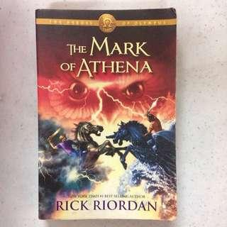 The Mark of Athena by Rick Riordan (PAPERBACK)