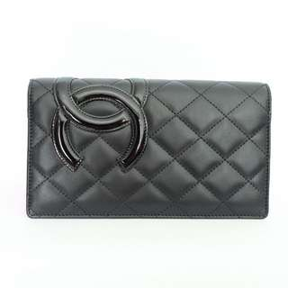 Brand New Chanel Wallet Black + Pink