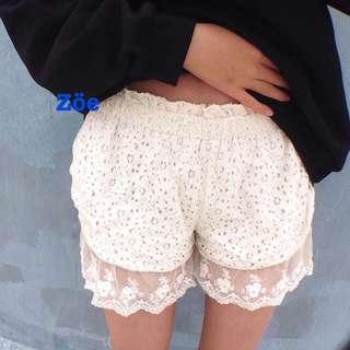 襯褲 內搭 蕾絲花邊