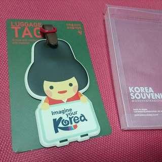 Imagine your Korea 行李吊牌 (賣場滿額贈品)