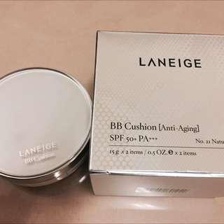 蘭芝LANEIGE氣墊粉底 BB SPF50 PA+++