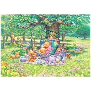 【拼圖LocalKing】〝現貨〞日本拼圖 300片拼圖 迪士尼 小熊維尼 大樹下睡覺 D-300-204