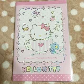 日版 KITTY A6 手帳本