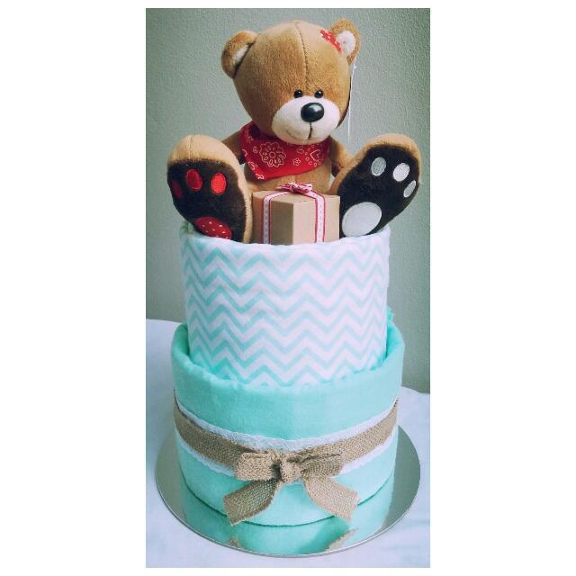 2-Tier Nappy CakeDesign