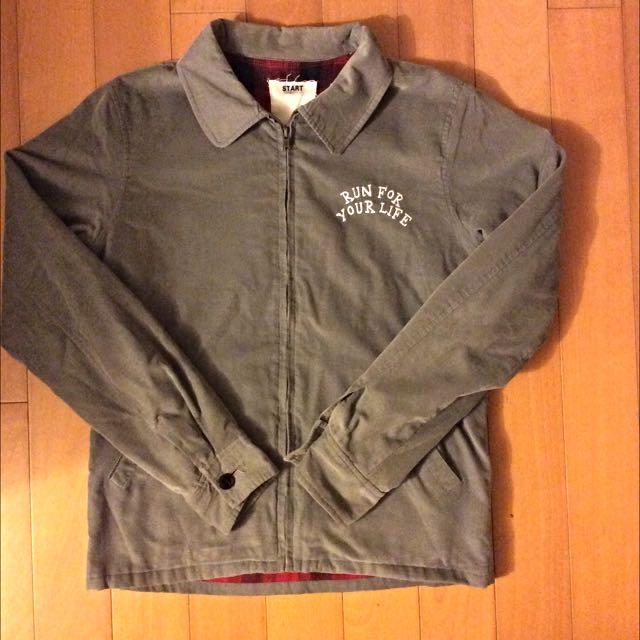 韓版刺繡工作外套