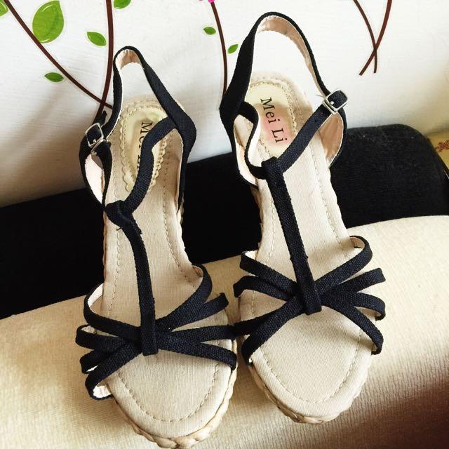 楔型涼鞋(保留)