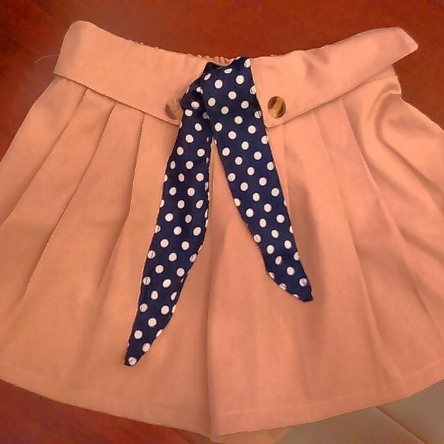 降價100⏩80駝色褲裙