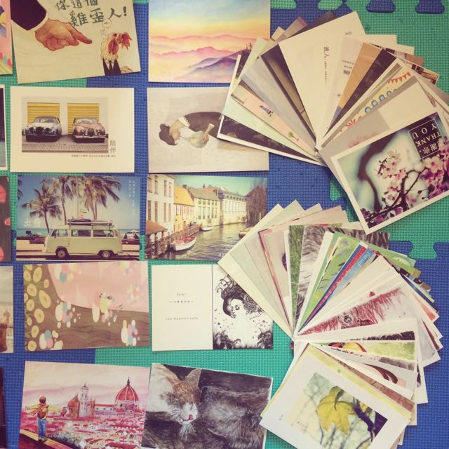 代寄代寫明信片 傳情送驚喜 每張20不指定圖樣