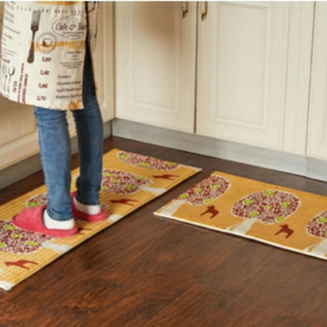 廚房 防油污 地毯 地墊 腳踏墊