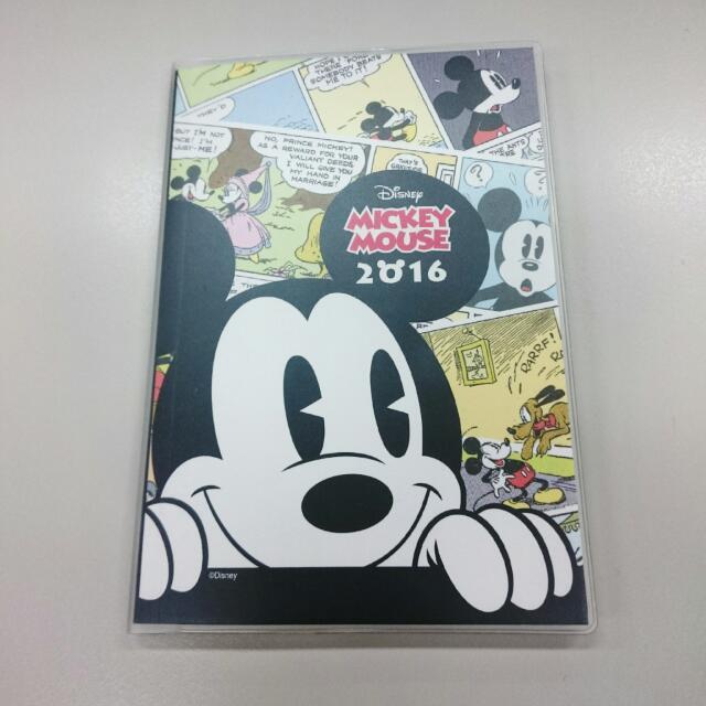 迪士尼 Disney 米老鼠 手帳