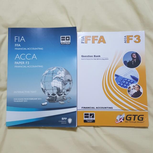 ACCA - F3 Financial Accounting