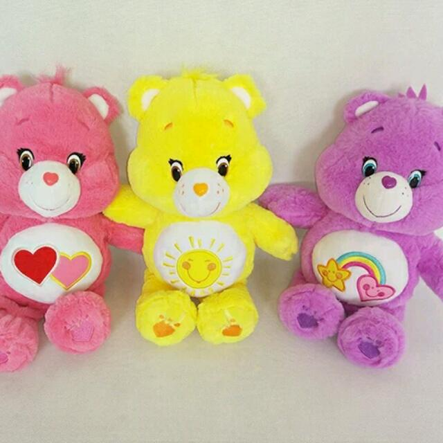 Carebears 愛心熊 玩偶 32cm Care Bears