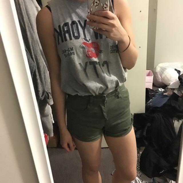 Grab Khaki Shorts