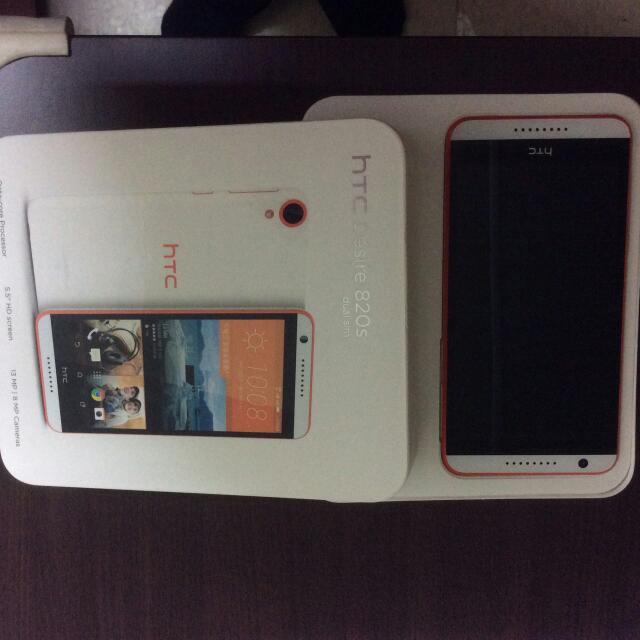 HTC desire 820s 白色雙卡手機