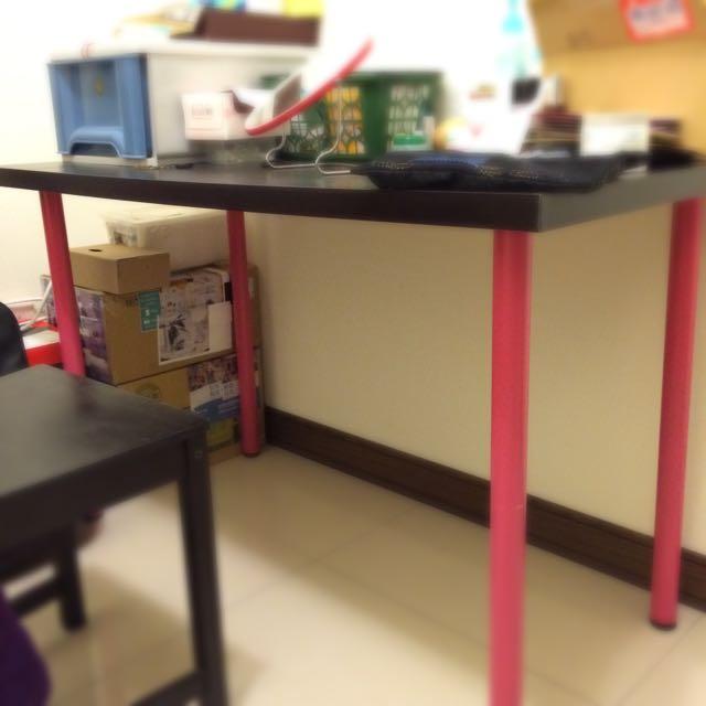 IKEA Linnmon 桌面 桌腳