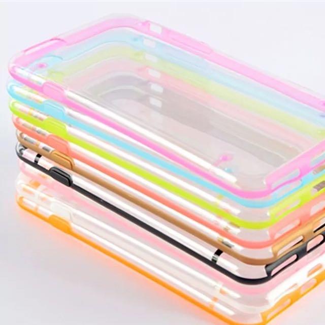 Iphone6 夜光殼 手機殼 透明 軟殼 超薄