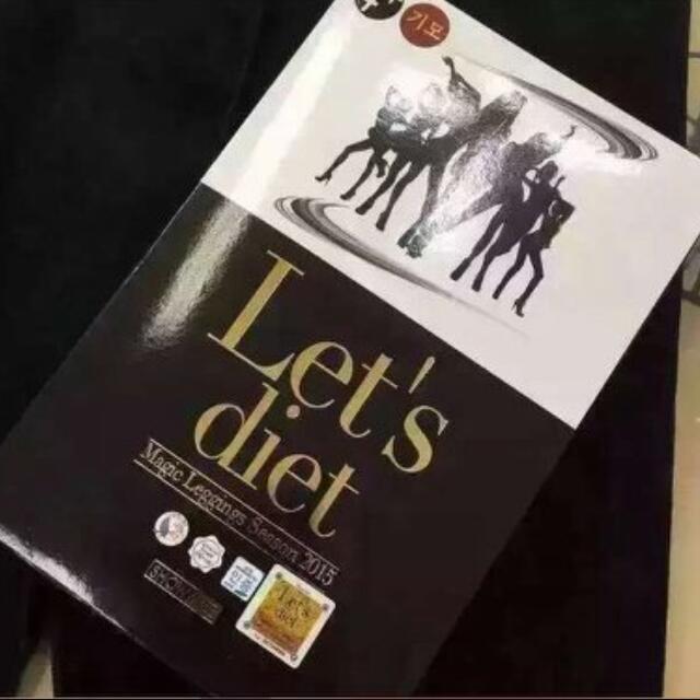 韓國Let's Diet(4+ 기모)顯瘦皮褲