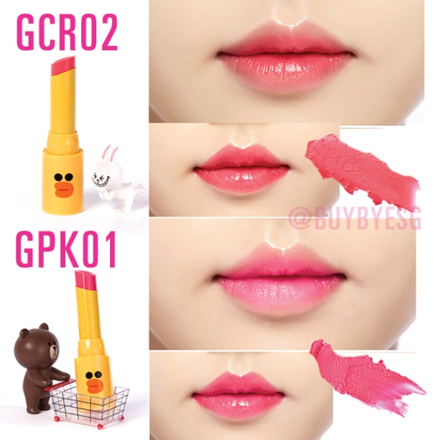 MISSHA x LINE Friends Lipsticks <LIMITED EDITION>, Women's
