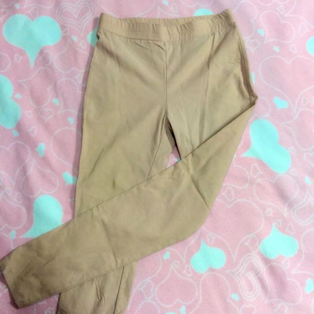 Pazzo淺膚色🐚內搭鉛筆褲