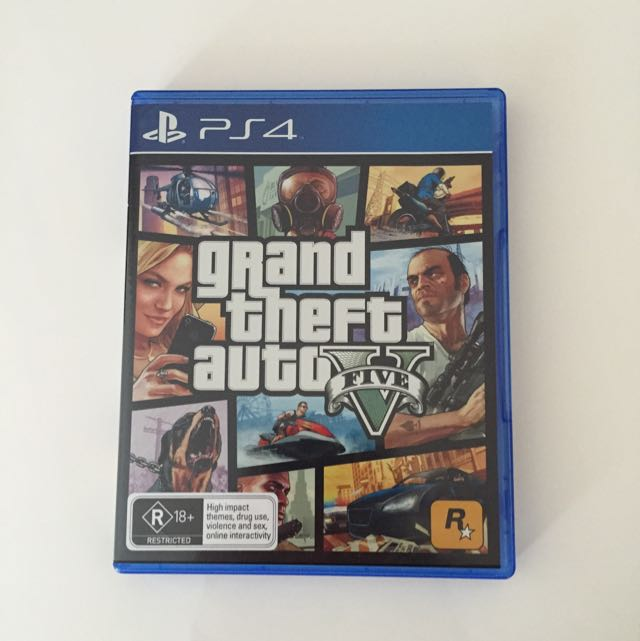 *PS4* Grand Theft Auto Five (NEGOTIABLE)