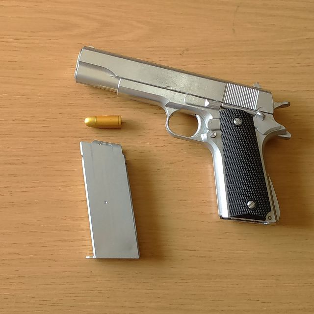 Replica Gun Colt M1911a1 Pistol Hitman Agent 47 S Silverballers Toys Games On Carousell
