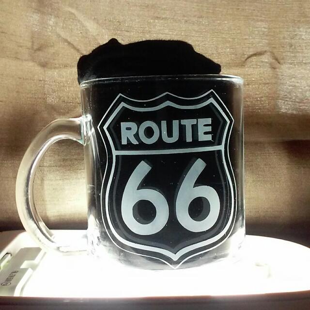 Route 66 Custom Coffee Mugs Valentine's Gifts Presents Etchings Engravings