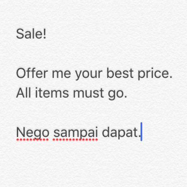 Sale RM1-RM25