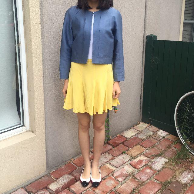 Stella McCartney for Target Silk Blazer Blue Size 10