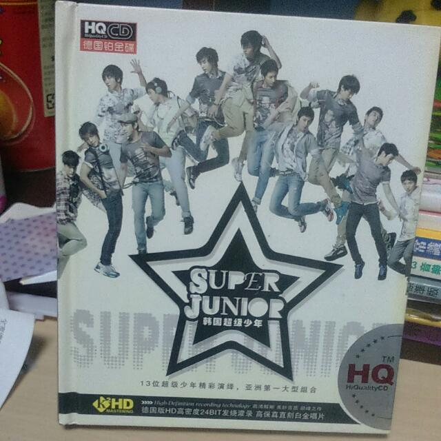 Super Junior CD三張