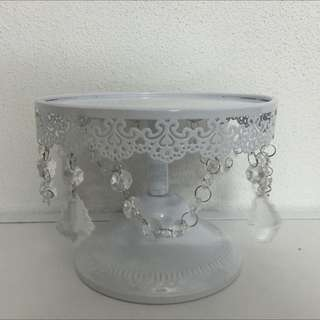 White Cake Stand for SALE