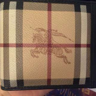 Burberry Wallet Authentic