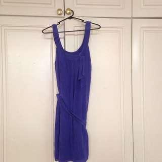 PURPLE BRACEWELL DRESS
