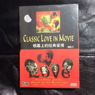 DVD Set Brand new: Classic love In Movie