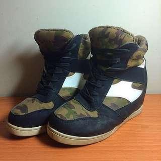 內增高厚底鞋 36-37號