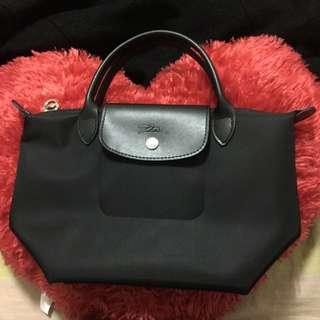 Longchamp 加厚款 S號 黑色