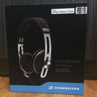 Sennheiser Momentum On-Ear Headphones (Brown)
