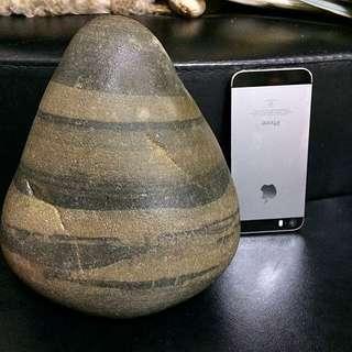 🚚 石頭收藏 🔮雅石 虎斑紋 與 小狐狸