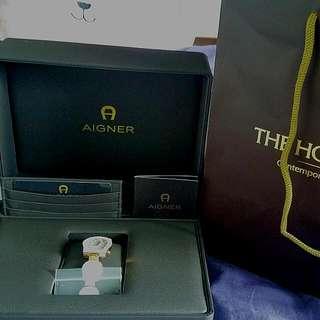 Auth BN Aigner Ceramic Watch.