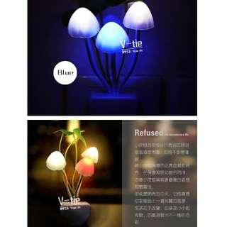 七彩蘑菇小夜燈