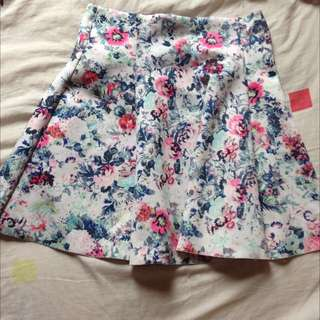 Bershka Flare Skirt