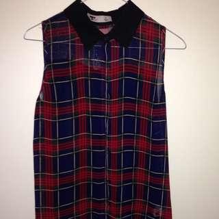 Temt Chiffon Shirt