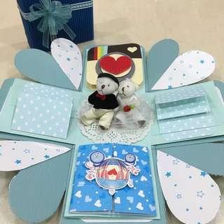 小熊款禮物盒