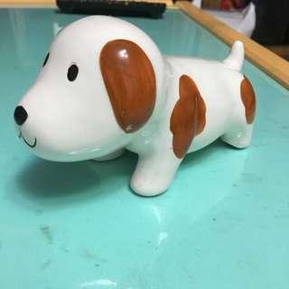 可愛狗狗陶瓷裝飾品