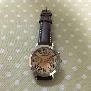 韓 時尚中性手錶