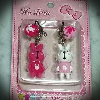 Bunny Key/handphone chain