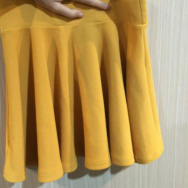 二手/甜美顯瘦太陽裙
