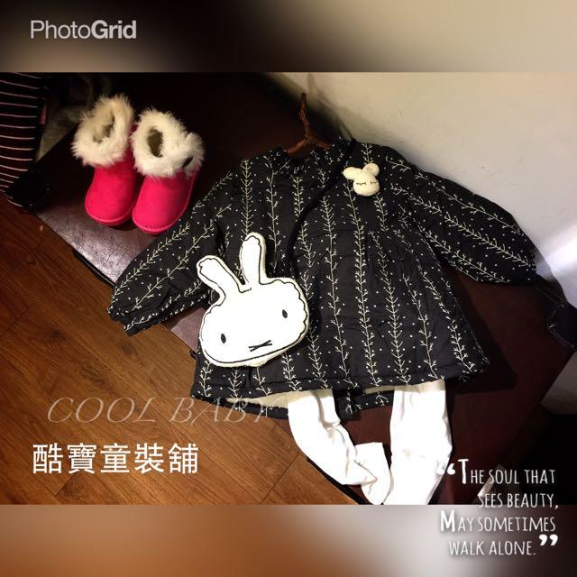 童可愛韓版小洋裝(附裝飾品