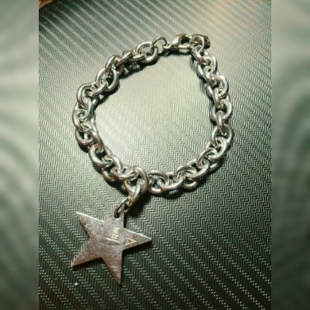 星星鋼手鍊