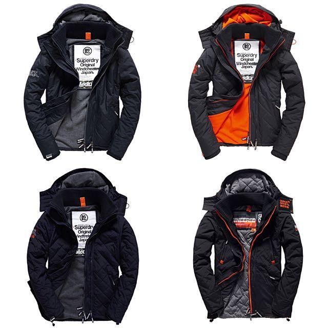 限時特價✔️ Superdry 極度乾燥 極地系列 男生防風外套